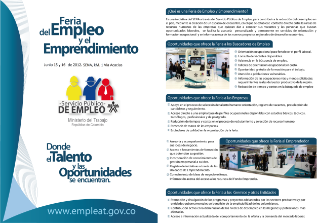 Primera Feria Empresarial